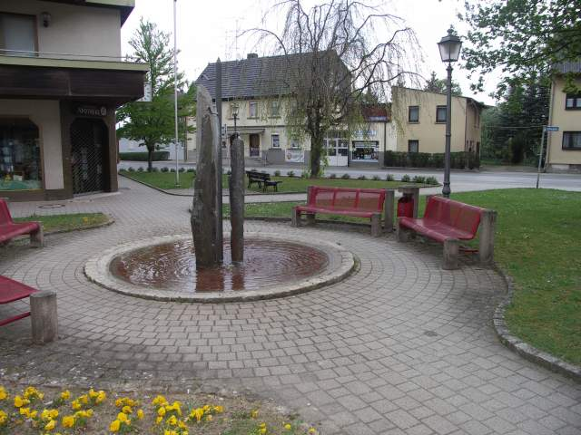 Brunnen am Zolltorplatz